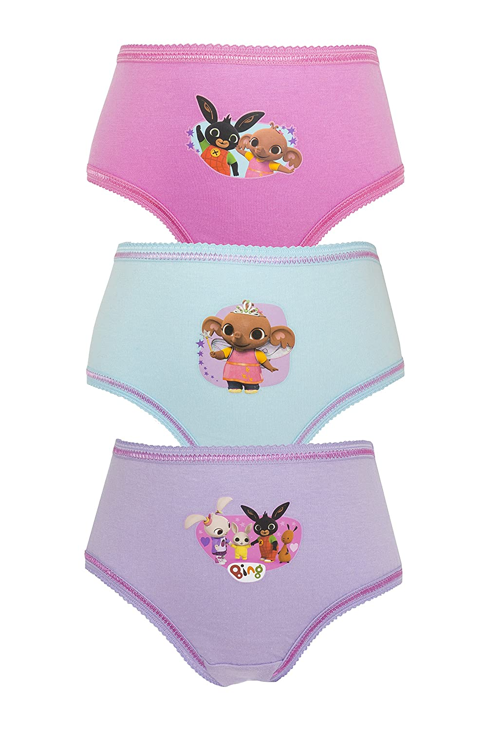 Cartoon Character Products CBeebies Bing Girls Pants/Knickers 18 Months - 5 Years