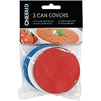 Chef Aid Tin Can Covers, Set van 3 covers, Kan worden gebruikt voor alle standaard formaat Tin blikjes