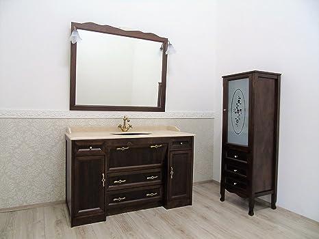 Le chic mobile bagno patronale con marmo crema colonna bagno