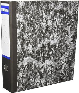 Definiclas 946603 - Archivador jaspeado A4, 75 mm: Amazon.es: Oficina y papelería