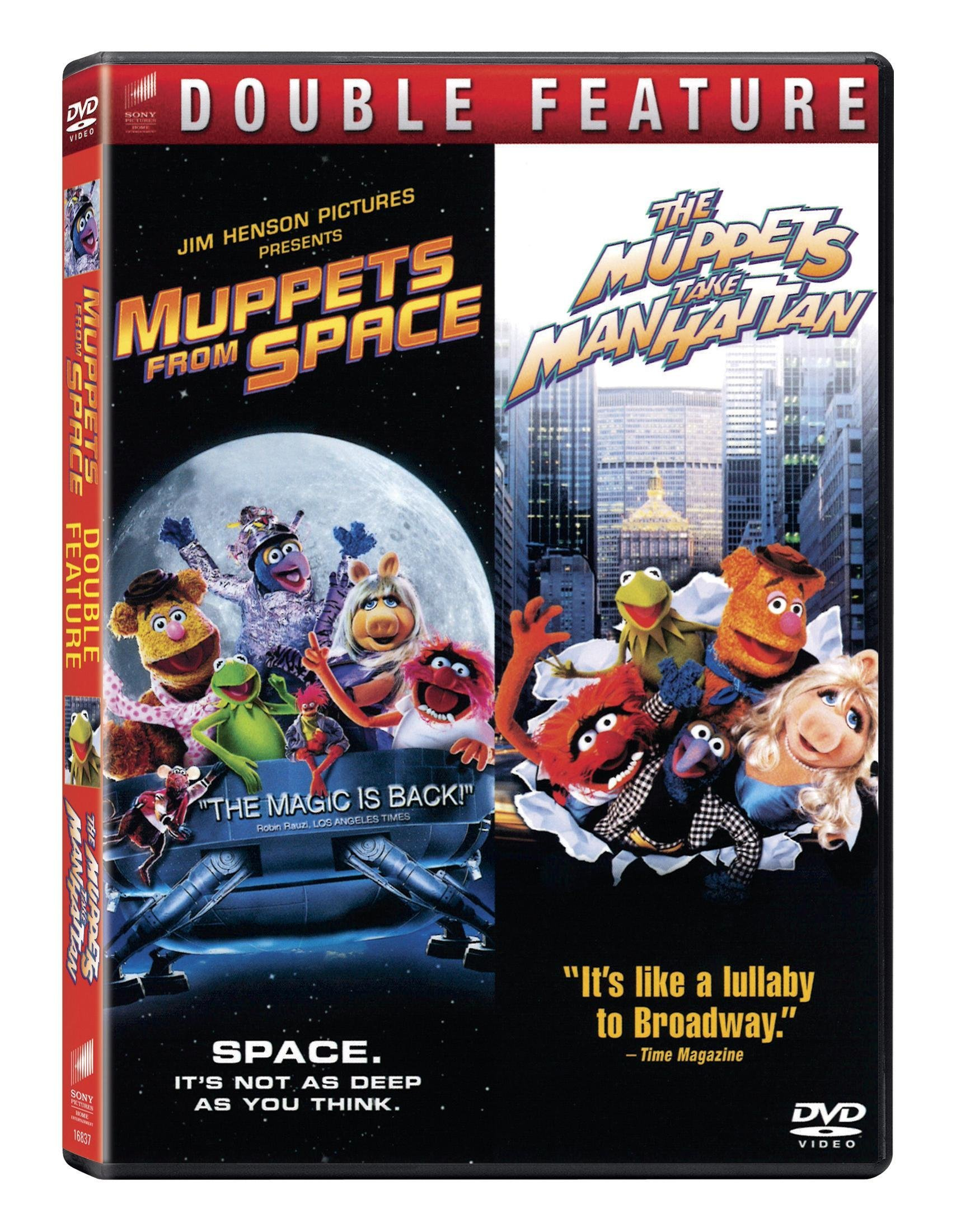 DVD : Muppets From Space/ Muppets Take Manhattan (2 Disc)