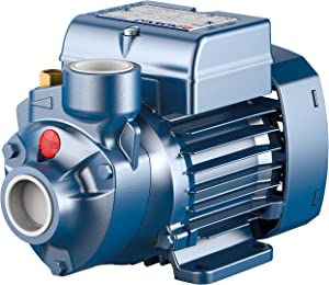 Pedrollo Booster Water Pump - 634 GPH, 1/2 HP, 115 Volts, Model Number PKm60