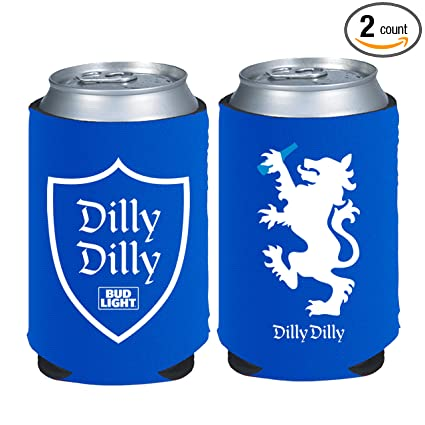 amazon com dilly dilly bud light beer can neoprene kaddy koozie