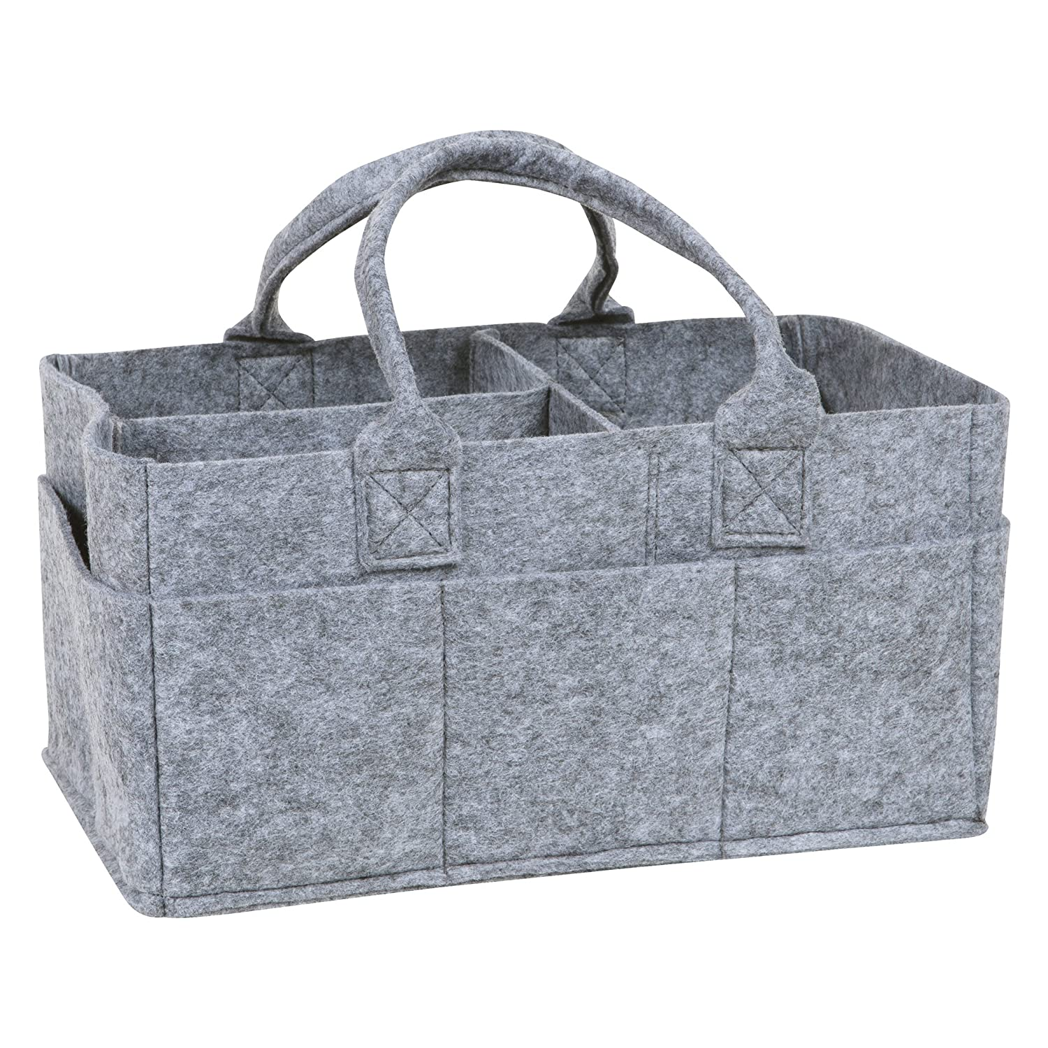 Sammy & Lou Felt Storage Caddy, Gray Trend Lab 103122