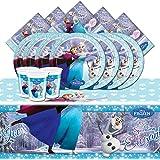 Kit de fête la reine des neige ice skating pour 8 personnes