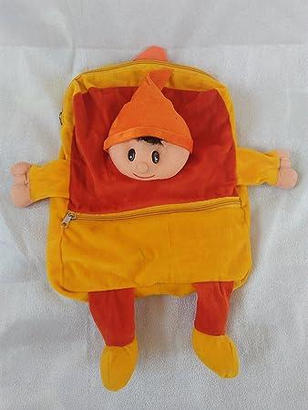 SRT Fur 5 Liters Orange & Yellow Childrens Backpack