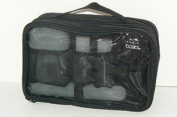 de3e8a0ed674 Amazon.com   BASICS Men s 2-in-1 Shower Kit   Makeup Travel Cases ...
