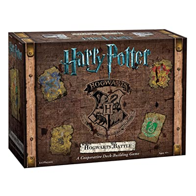 Harry Potter Hogwarts Battle Cooperative Deck Building Card Game | Official Harry Potter Licensed Merchandise | Harry Potter Board Game | Great Gift for Harry Potter Fans | Harry Potter Movie artwork: Cards: Toys & Games