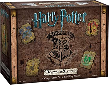 Oferta amazon: USAopoly Juego de Cartas de Batalla de Harry Potter Hogwarts, DB010-400