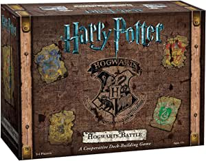 Harry Potter Hogwarts Battle a Cooperative Deck Building Game Strategy Game
