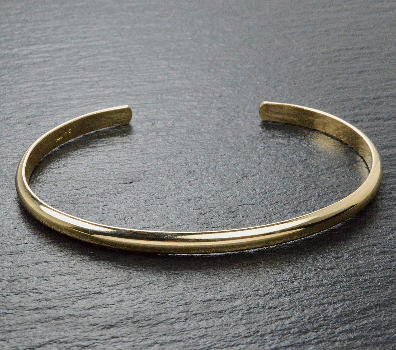 Handmade 14k Gold Filled Bangle Bracelet Made in Alaska