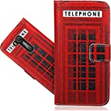 """Asus Zenfone Go ZB551KL (5.5"""") Custodia Cover Case, FoneExpert® Flip Case Design Custodia Pelle accessori Protective Portafoglio Wallet A Libro Cover per Asus Zenfone Go ZB551KL (5.5"""")"""