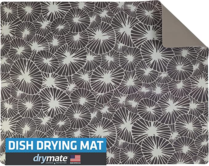 Dish Drying Mats Christmas Dessert 18x24 Kitchen Dry Mat,Absorbent Quick Drying Dish Mat Machine Washable 2100022