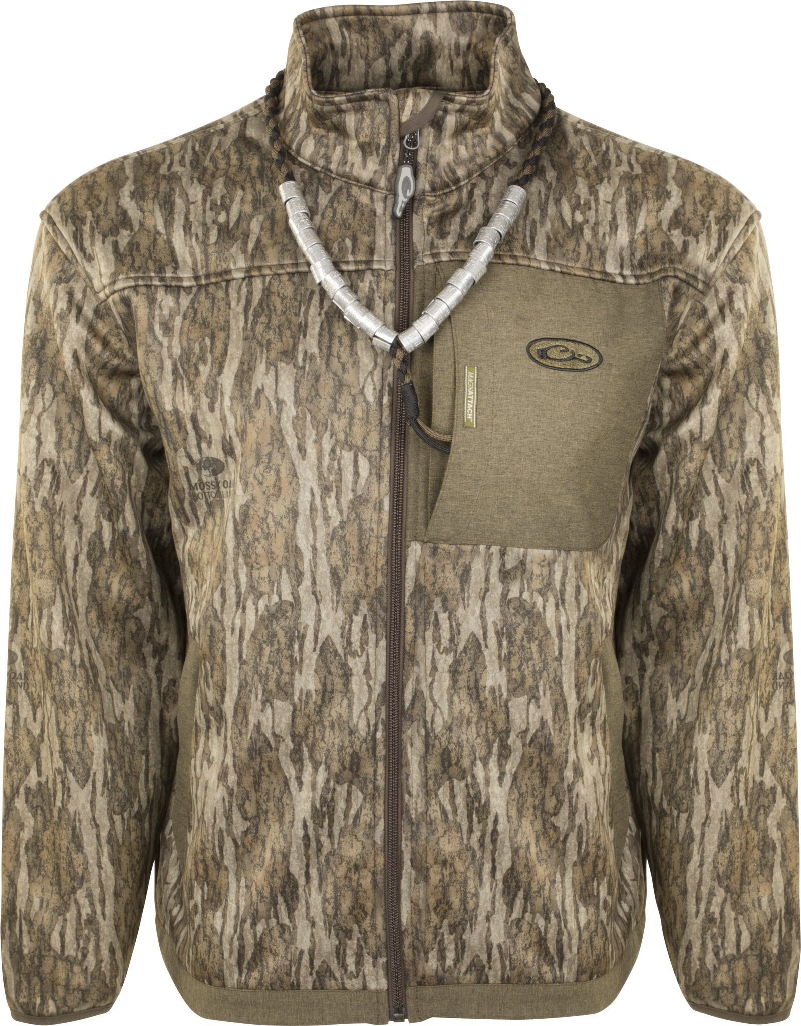 Drake MST Endurance Hybrid Liner Full Zip (Bottomland, Small)