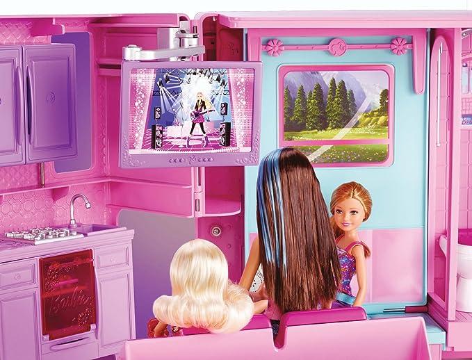 Amazon.es: Barbie - Supercaravana de Barbie y sus amigas (Mattel X8410): Juguetes y juegos