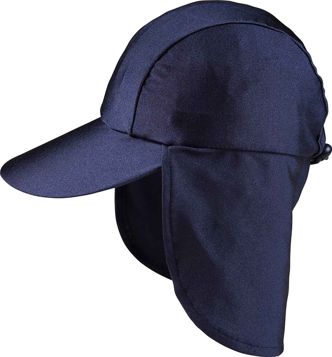 Zunblock UV-Hat with Neck Protection, Navy, Small 5010511