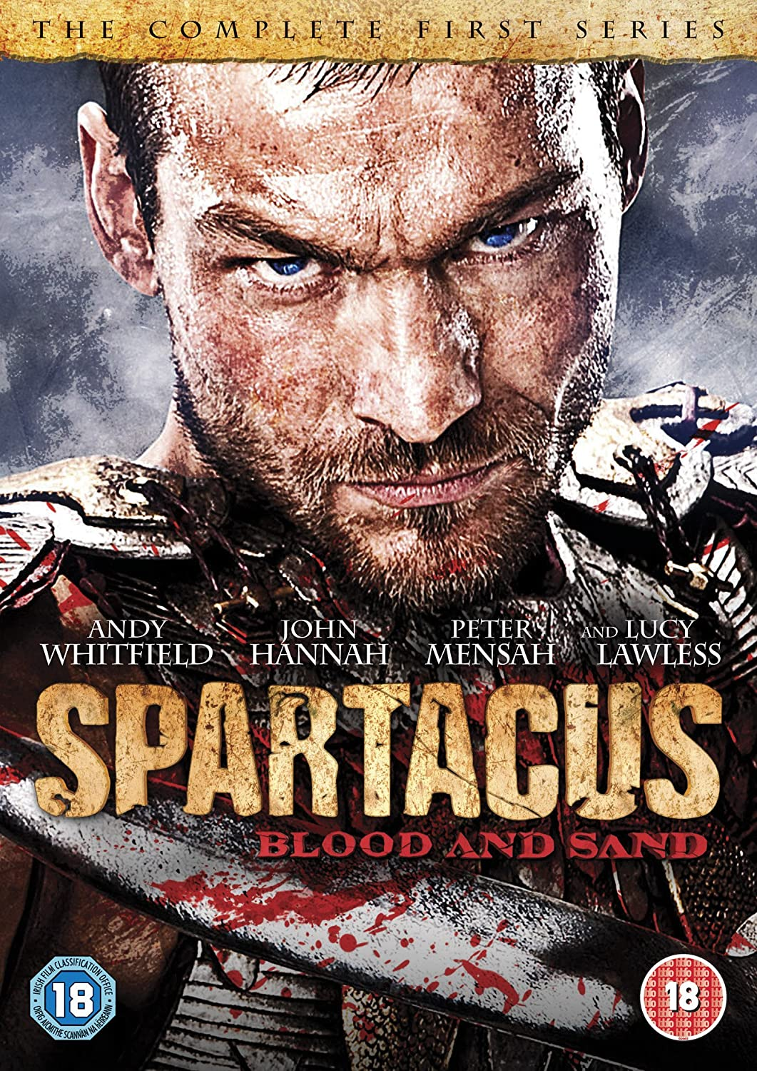 Spartacus Blood And Sand Season 1 Dvd Andy Whitfield Andrew Smith Bermuda Shorts Kuning 31 Lucy Lawless Manu Bennett Daniel Feuerriegel Peter Mensah Nick E Tarabay
