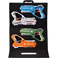 4-Pack Dynasty Toys Laser Tag Set and Carrying Case for Kids Multiplayer