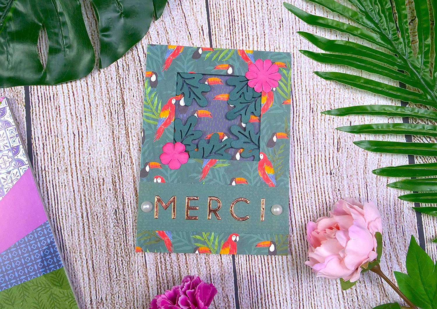 Scrapbooking Paper Addicts Tropical Bliss Paper Pad-30 Sheets-15 Designs-100GSM-Acid /& Lignin Free-for Card Making Multicolour Die Cutting and Home D/écor 6x6 Papercraft