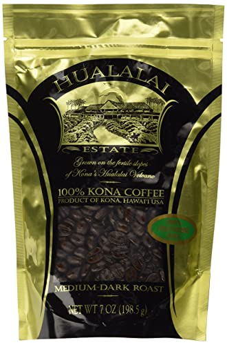 Hualalai Estate - 100% Pure Premium Kona Coffee - Medium-Dark Roast