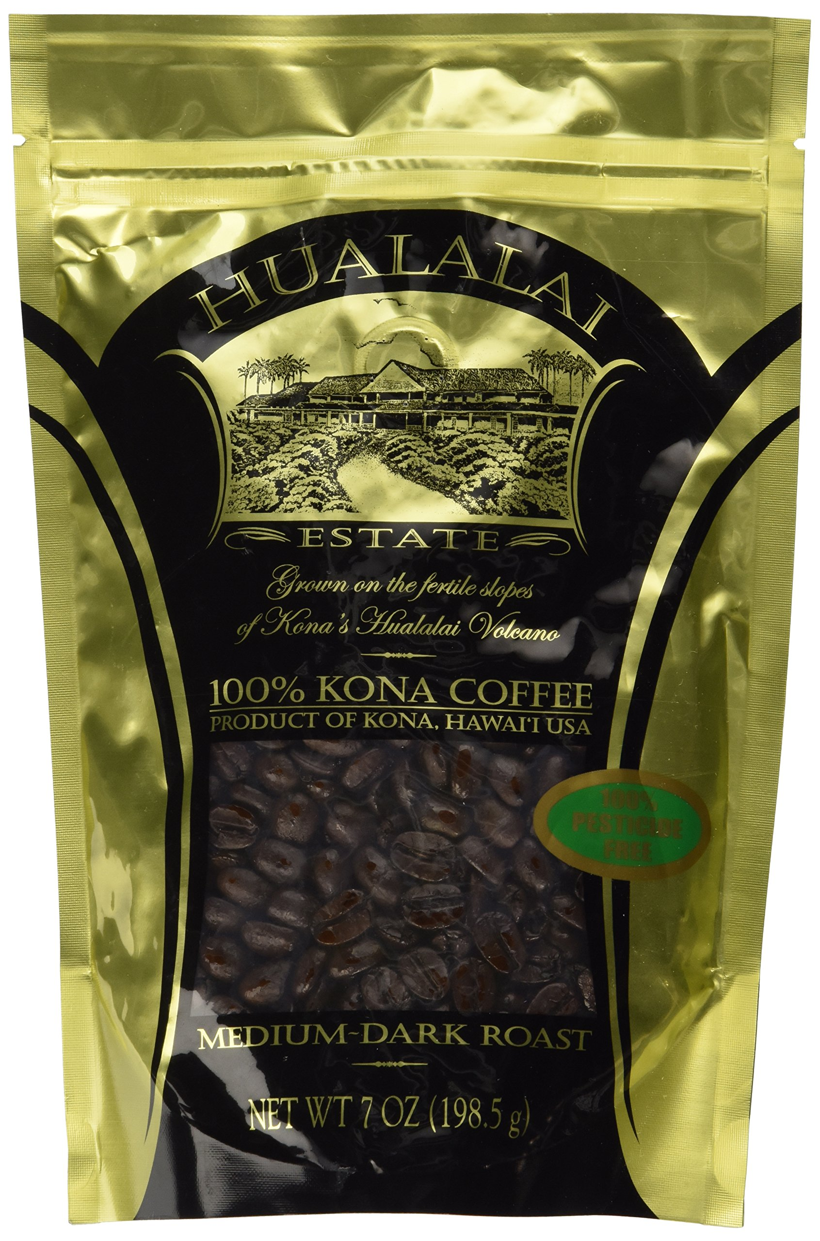 Amazon Com Hawaii Roasters 100 Kona Coffee Medium
