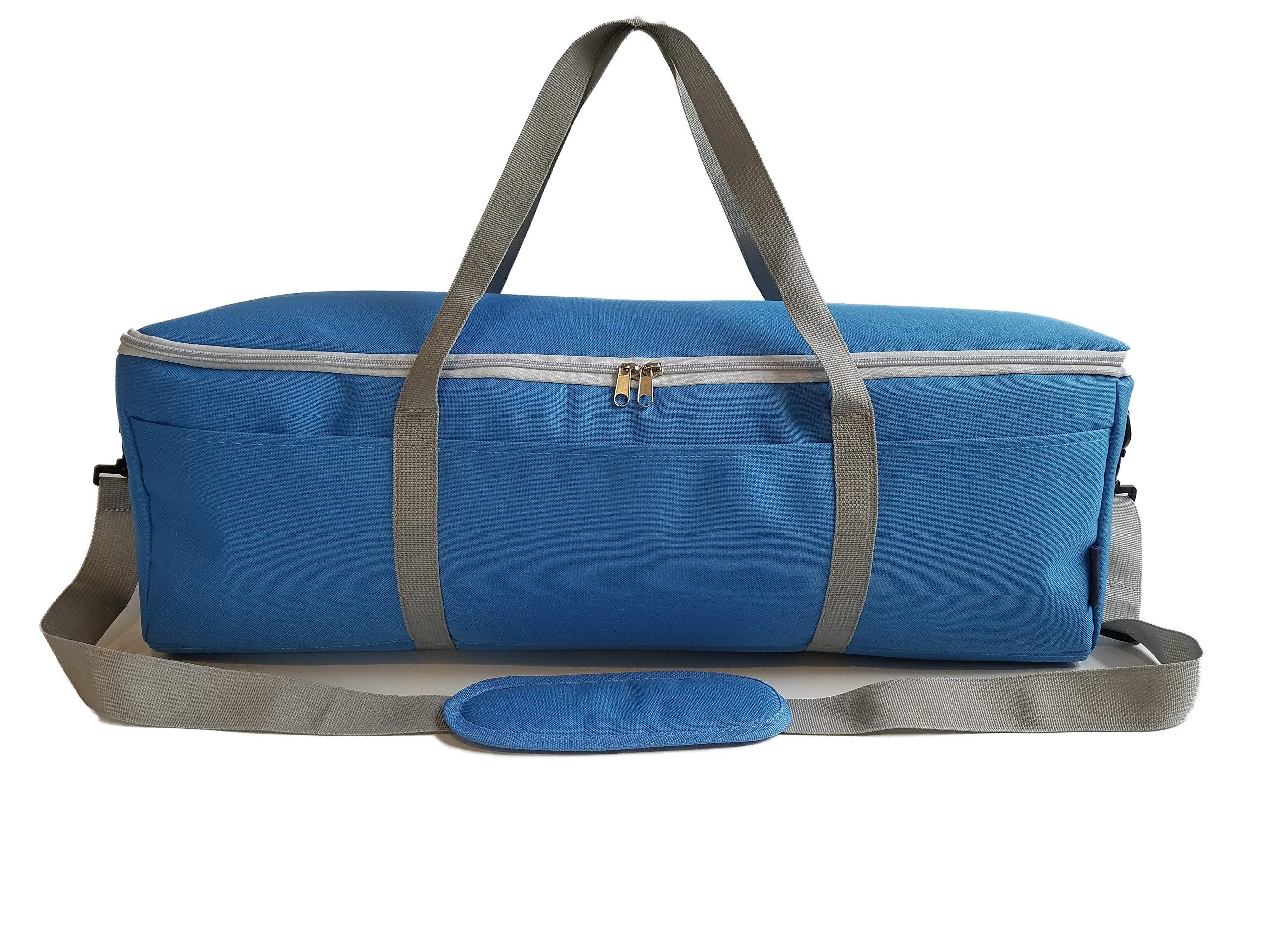 StarPlus2 Padded Craft Machine Shoulder Carry Bag, Sized to Fit Cricut Explore, Explore Air, Explore Air 2, Explore One, Maker - Blue