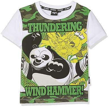 9157b1761 DreamWorks Baby Boys' DW 34-002TS T-Shirt, Bianco, 110 cm (Size :5):  Amazon.co.uk: Clothing