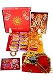 Pooja Box: Navratri/Navdurga MATA Puja/Pujan Items with Puja Vidhi