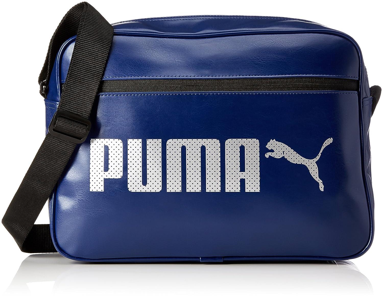 Puma Campus Reporter Umhängetasche blau (blue depths) 40 x 29 x 13 5 cm PUMDF|#PUMA