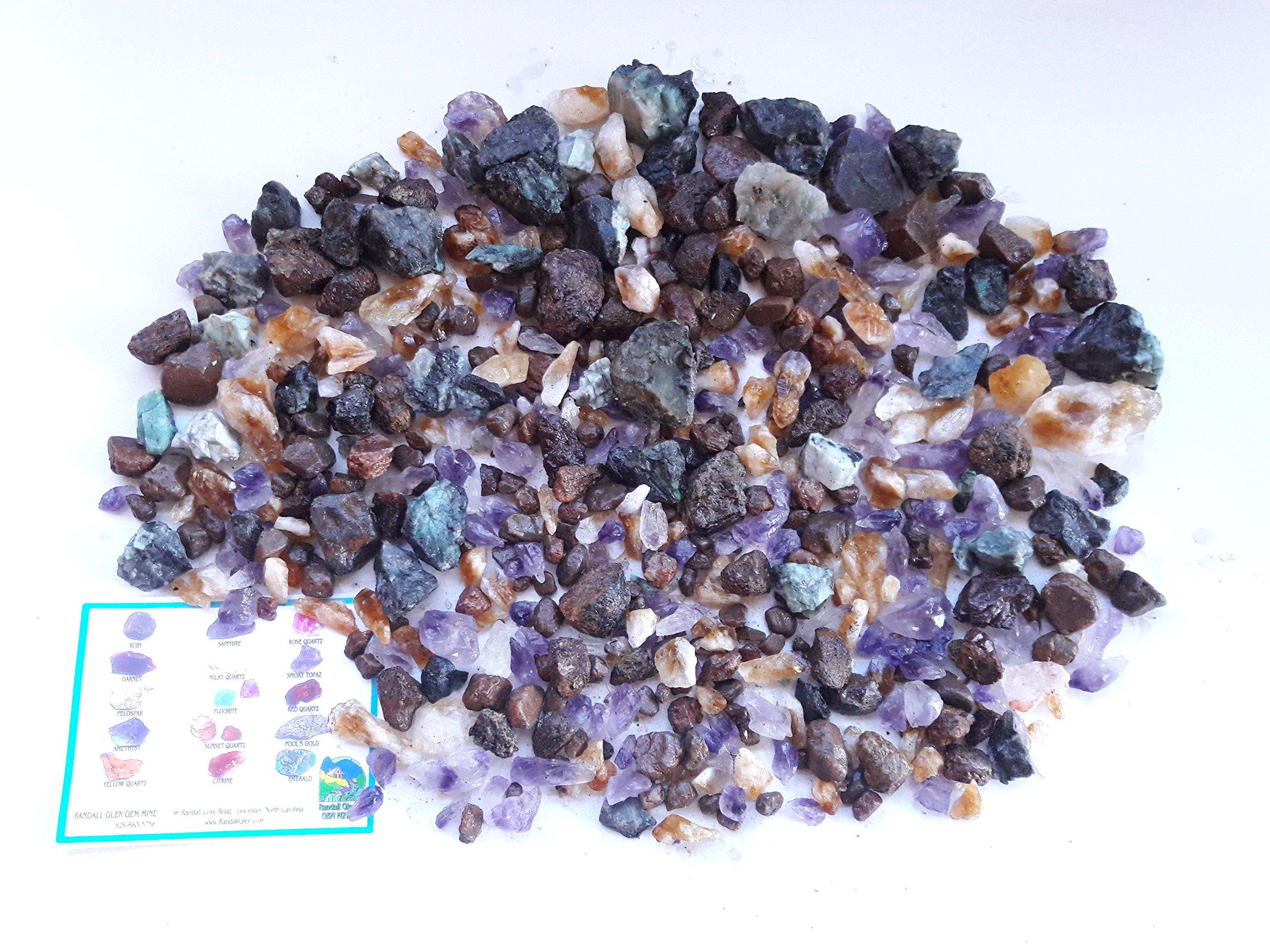 TIFFANY TREASURE BOX Home Gem Mining Kit 18,000+ Carats of Best Gems