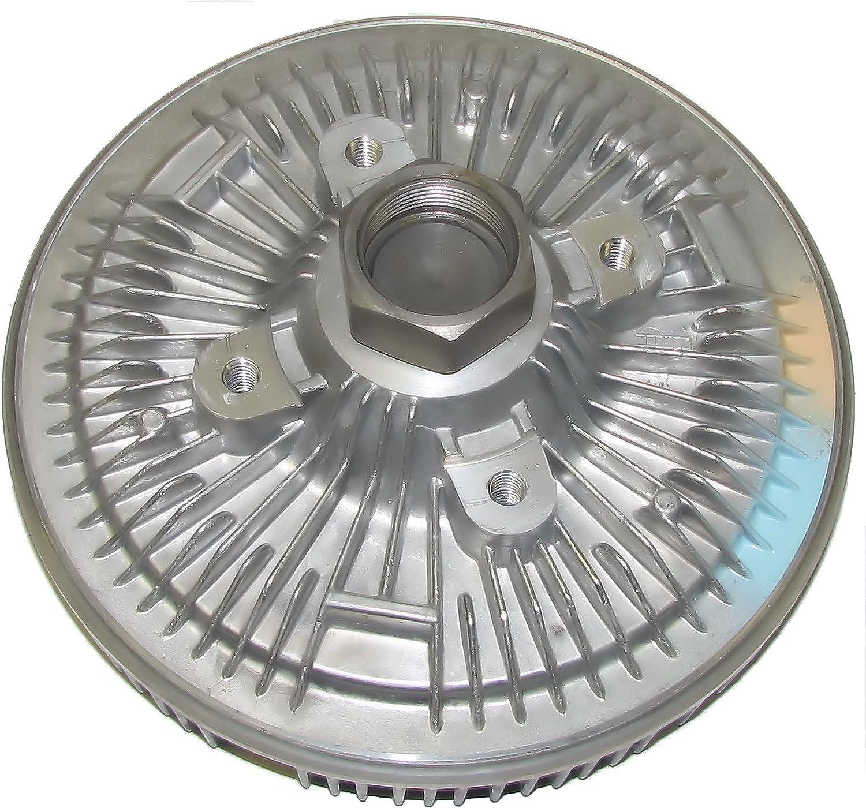 APDTY 110221 Fan Clutch Fits 1990-1993 Dodge D250 D350 W250 W350 w//5.9L Diesel 1994-1999 Dodge Ram 2500 or 3500 Pickup w//5.9L Diesel Replaces 52004928, 52028615AB, 52028615