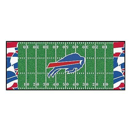 4dc6735d Amazon.com: NFL Buffalo Bills Football Field Runner Mat Area Rug ...