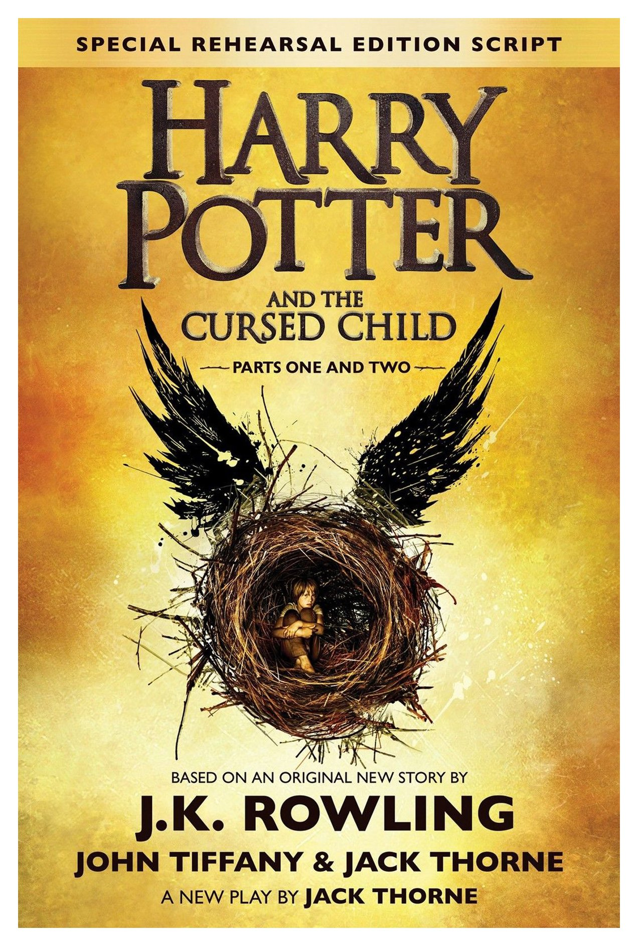 New Harry Potter and the Cursed Child Parts One Two Special Rehearsal Edition (Large Print)