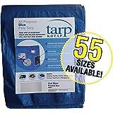 Kotap 20-ft x 20-ft General Purpose Blue Poly Tarp, Item: TRA-2020