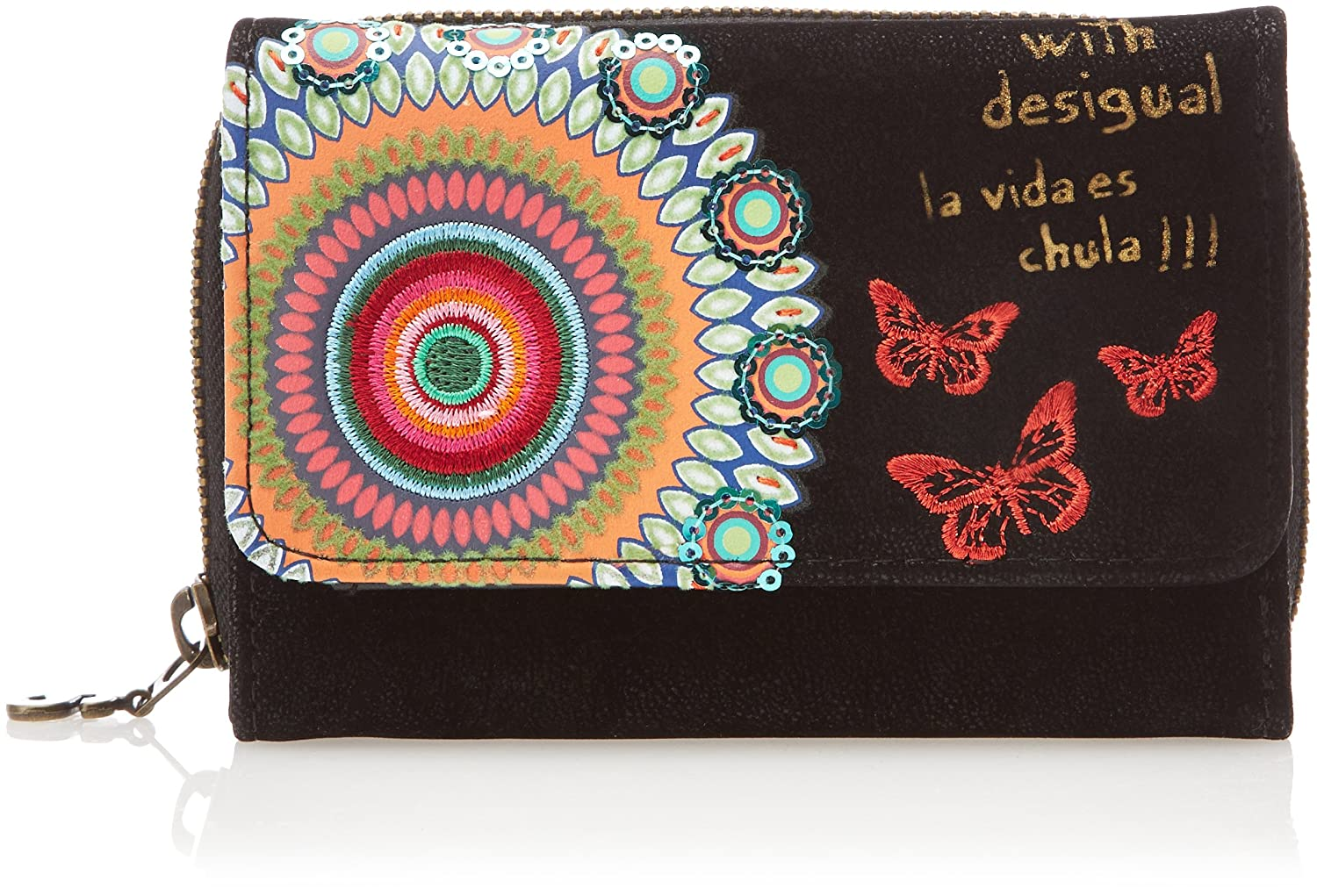 Amazon.com: Desigual Womens Maria S Candy, Black, One Size ...