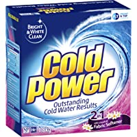 Cold Power 2 in 1 with a touch of Fabric Softener, Powder Laundry Detergent, 1.8kg