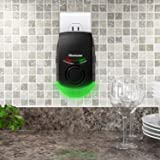 Eliminator Plug-in Pest Repeller with Night Light – Eradicates All Types of Insects and Rodents