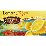 Celestial Seasonings Lemon Zinger Tea, 20 ct
