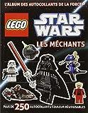 Lego Star Wars, l'album des autocollants de la force n°2 Les Méchants