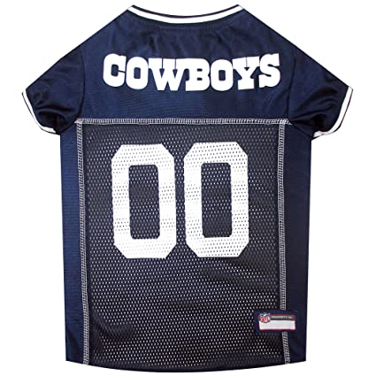 d4fddb0bff6 Amazon.com : NFL DALLAS COWBOYS DOG Jersey, X-Small : Sports Fan ...