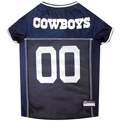 classic fit 9e740 4a098 Pets First NFL Dallas Cowboys Jersey, XL