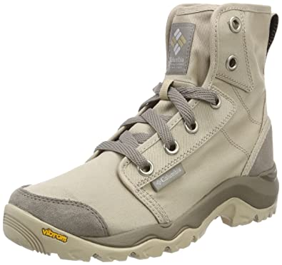 Columbia Damen Sneakers, Wasserdicht, Camden Chukka, Beige (Ancient Fossil Grey Ice), Größe: 40.5