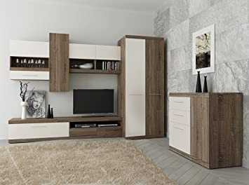 wall cabinets living room furniture.  Living TOKIO Living Room Furniture Set 2 Door Wardrobe Tv Cabinet Wall Glassed  Led Lights Intended Wall Cabinets Living Room Furniture G