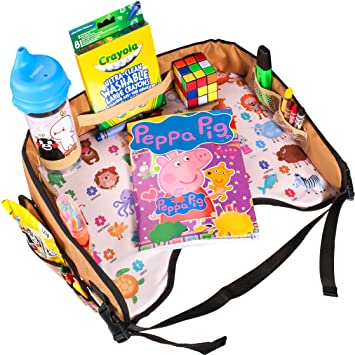 Amazon.com: Toddler Activity Tray for Car Seat by Nytelse - Kids ...
