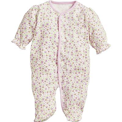 Playshoes Schlafoverall Blumen, Ensemble de Pyjama Mixte Bébé
