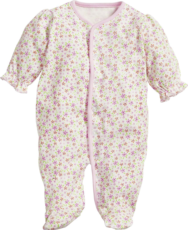 Schnizler Baby-M/ädchen Schlafoverall Blumen Schlafstrampler