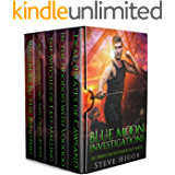 Blue Moon Investigations: A Humorous Fantasy Adventure Series Boxed Set Part 2
