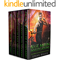 Blue Moon Investigations: A Humorous Fantasy Adventure Series Boxed Set Part 2 (Blue Moon Box sets)