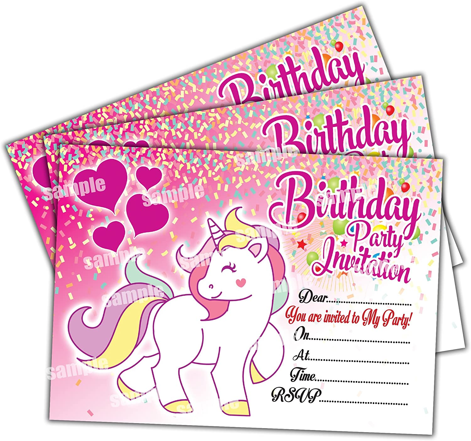 Collections of Sample Birthday Invitation Card,