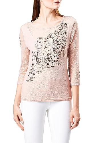 next Mujer Camiseta Adornada